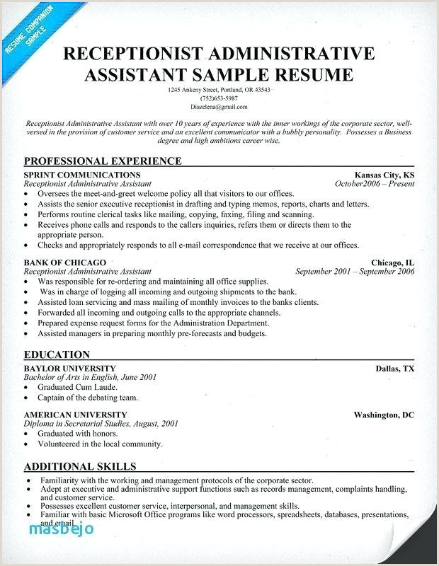 Summary For Receptionist Resume Resume Samples For Receptionist – Emelcotest