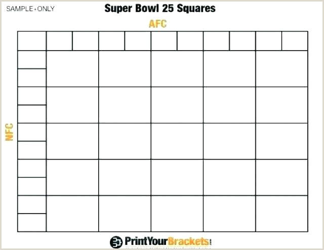 Super Bowl Boxes Template Excel Football Betting Pool Template Square Super Bowl Squares