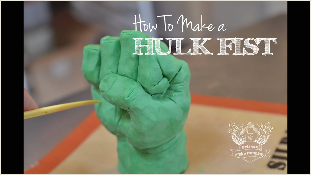 How to make a Hulk Fist