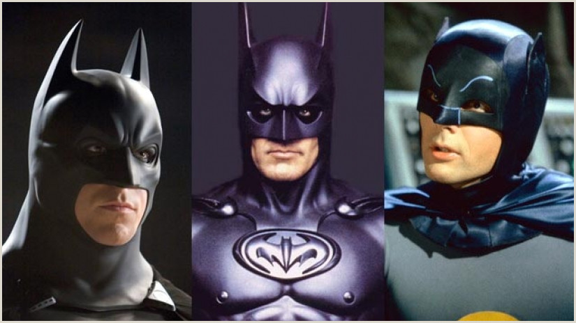 Super Hero Paper Doll the 9 Actors who Ve Played Batman