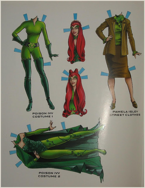 The Green World Poison Ivy Collecting Batman & Robin Movie