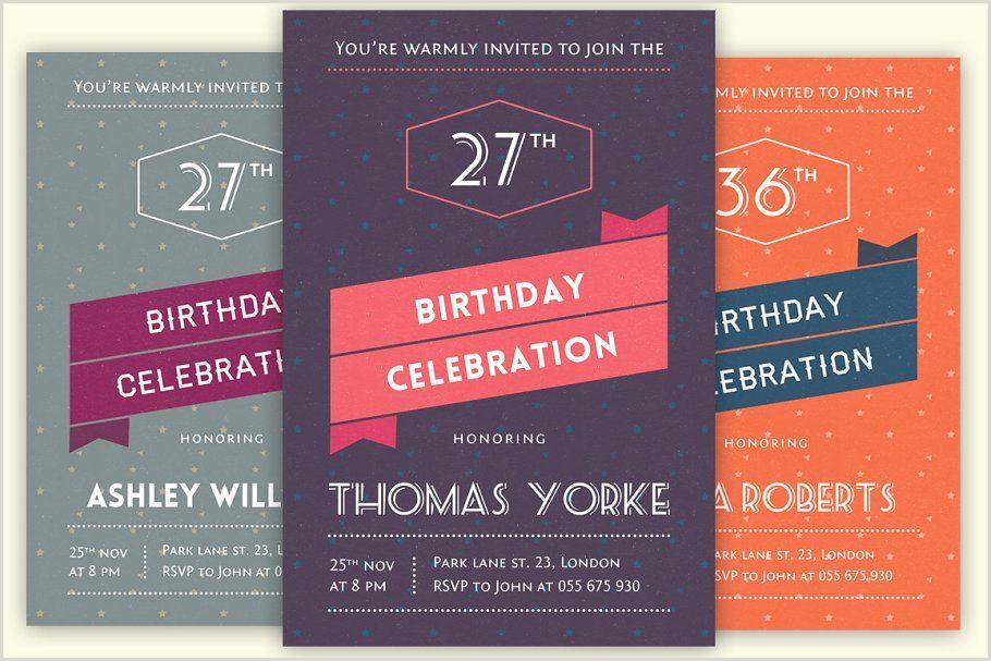 Sweet 16 Invitation Templates Retro Birthday Invitation Invitation Templates Creative