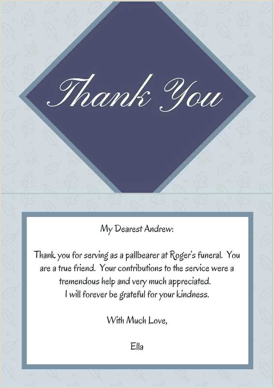 Sympathy Thank You Notes for Money Bereavement Thank You Quotes Sample Funeral Note for Money