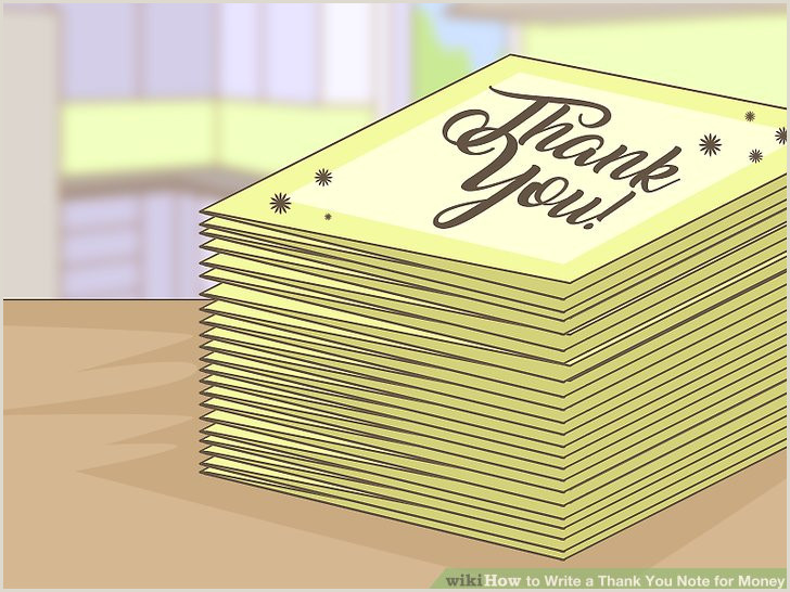 How to Write a Thank You Note for Money with Sample Thank