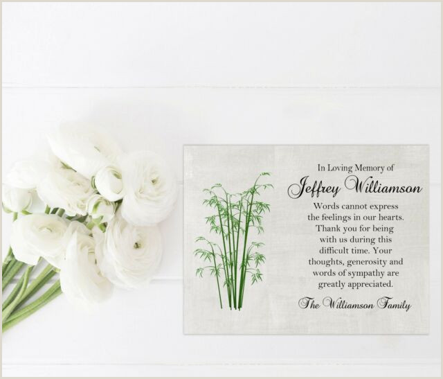 Sympathy Thank You Notes for Money Sympathy Acknowledgement Cards Funeral Thank You Notes Personalized