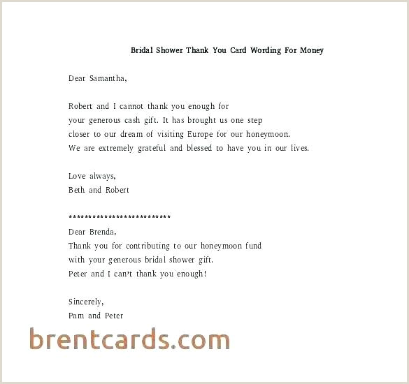 Thank You Note For Money Gift Cash Templates – Leanjava