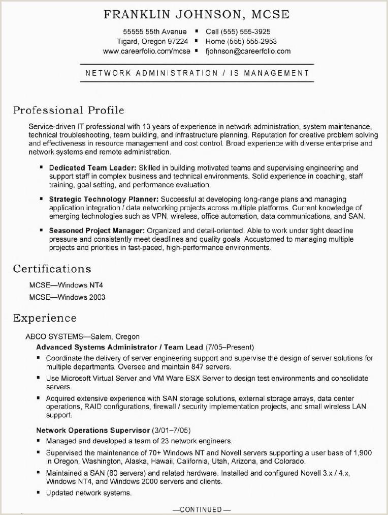 Fresh It System Administrator Resume Sample