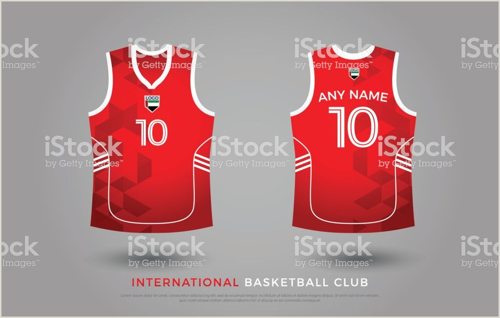 Basketball Tshirt Design Uniform Set Kit Basketball