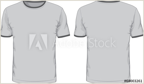 T Shirt Template Front and Back Men S T Shirts Template Front and Back Views Acheter Ce