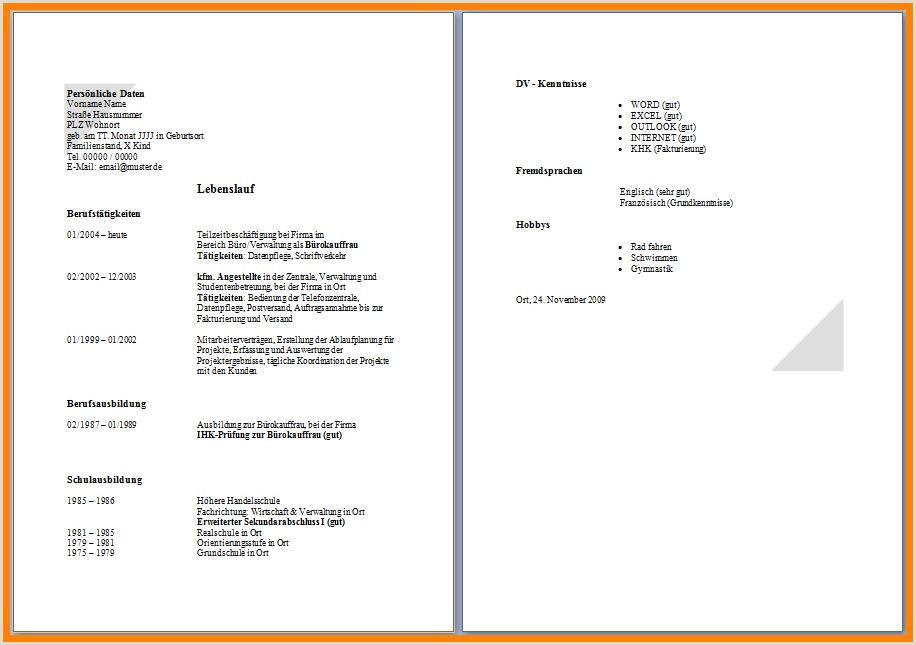 Tabellarischer Lebenslauf Schüler Vorlage Zum Ausfüllen 15 Lebenslauf 2 Seiten Federacion atletica Debolivia