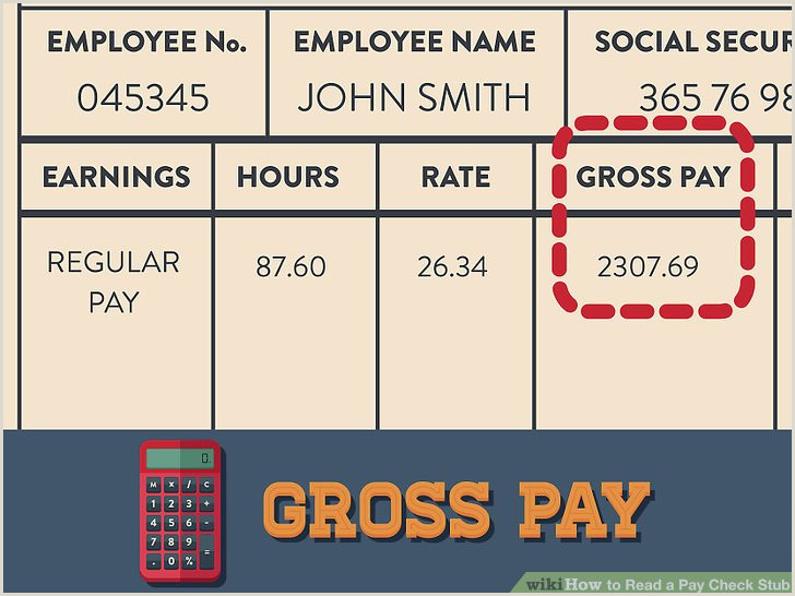 Target Pay Stubs 3 Ways to Read A Pay Check Stub Wikihow