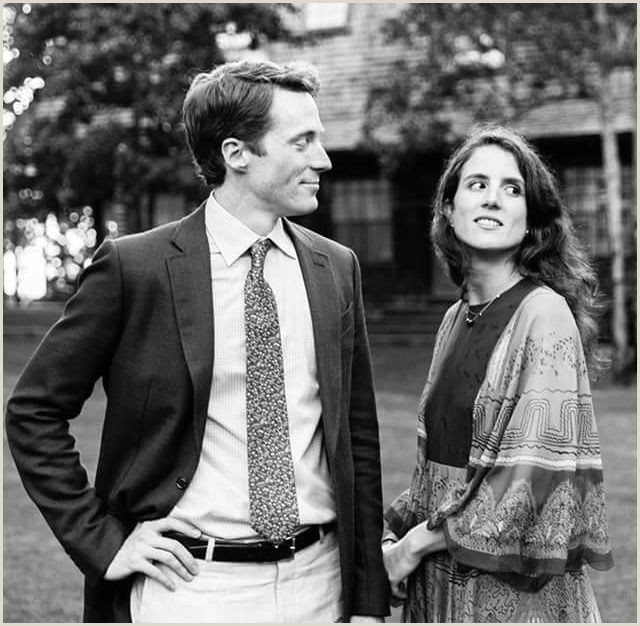 Tatiana Schlossberg Wedding Tatiana Schlossberg with Her Husband George Moran