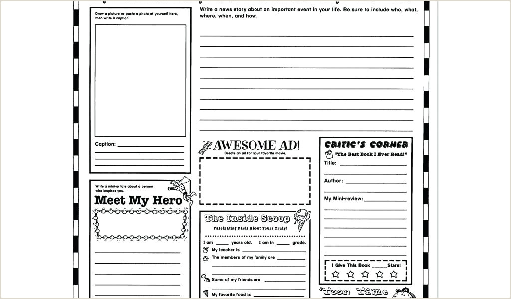 6th grade book report template – bighaus