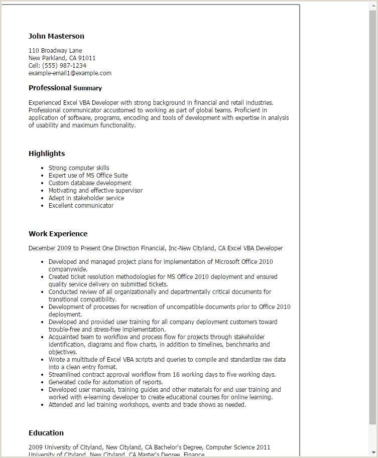 Teacher Resume format Download Sample Teaching Resume New Resumes Samples for Teachers
