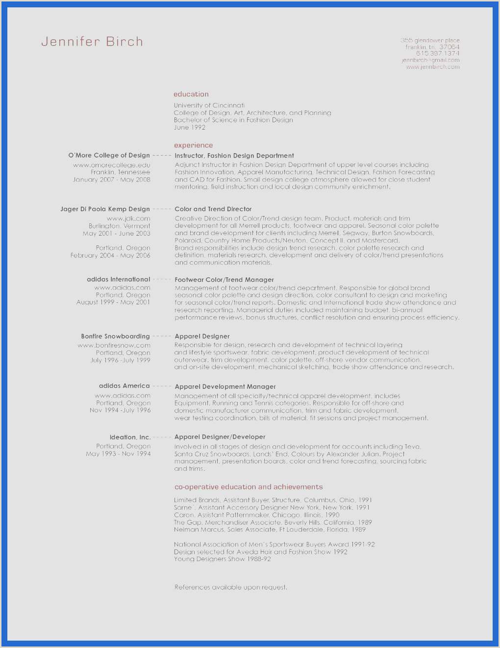 Teacher Resume format In Word Modele Cv Word 2007 Libre Cv Model Best Resume format In