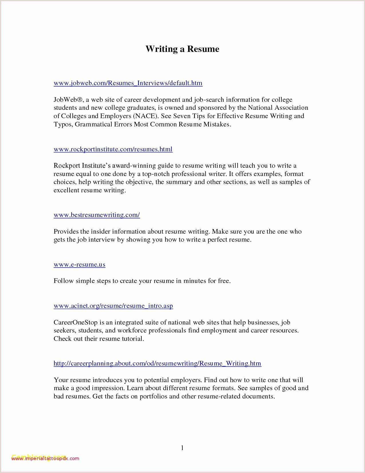 12 Resume Templates To Download For Free