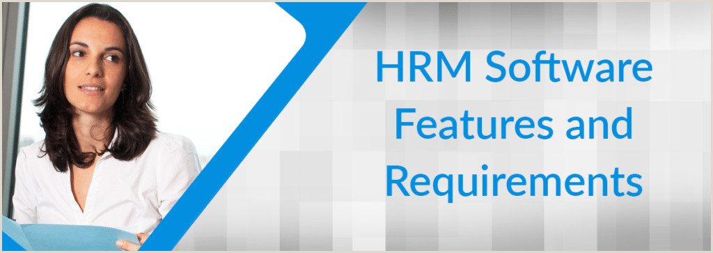 HRMS Software Features List & HR System Requirements for 2019