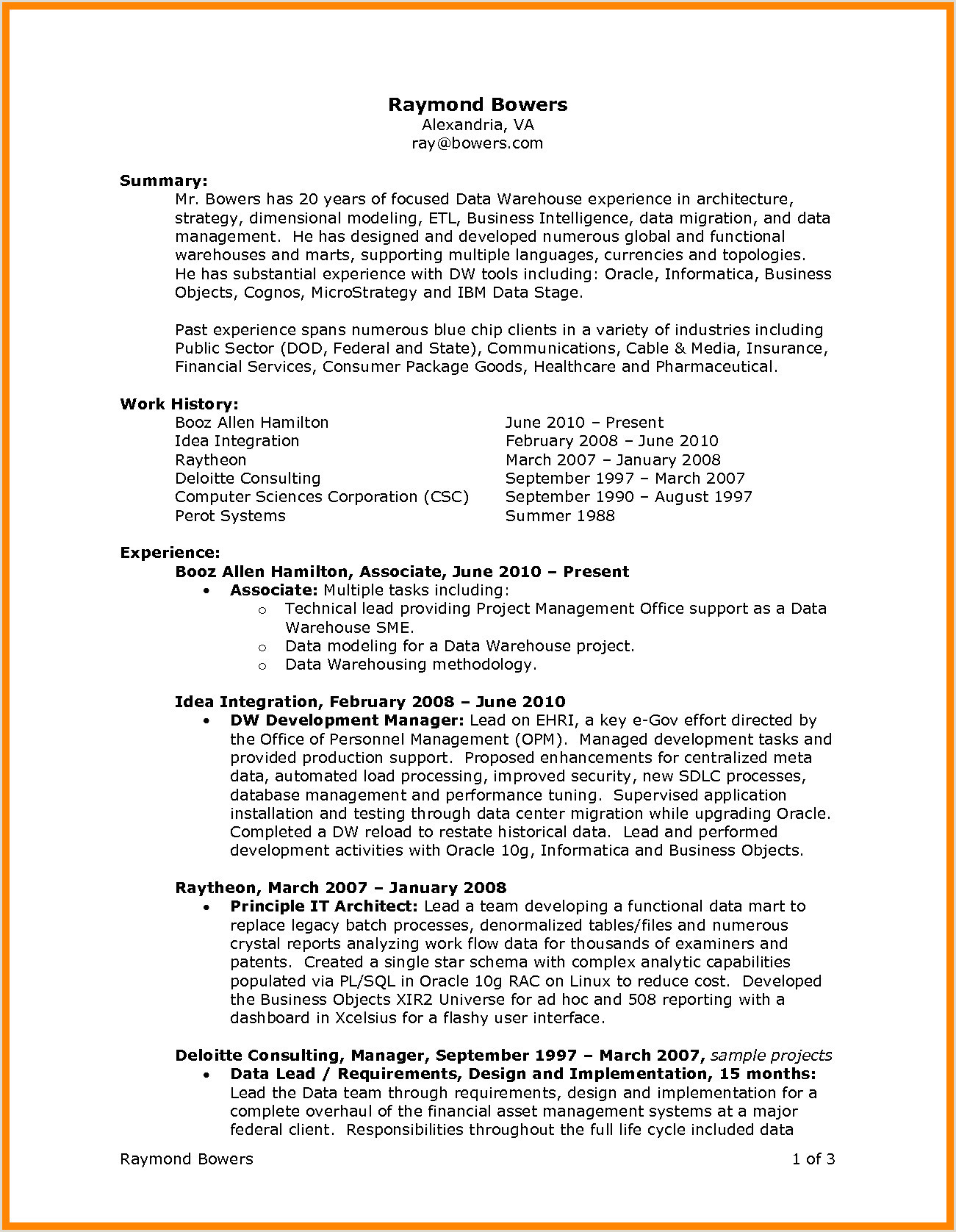 Beautiful Technical Support Resume Objective