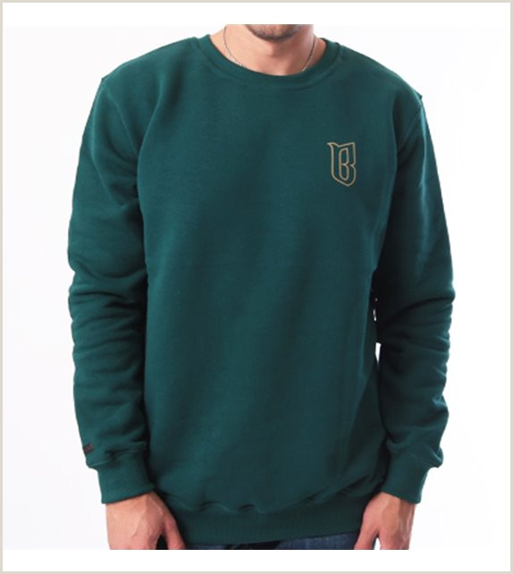 Tee Shirt Out Line Sweatshirt Bor Classic Borcrew Outline Green Polski Skateshop Uk