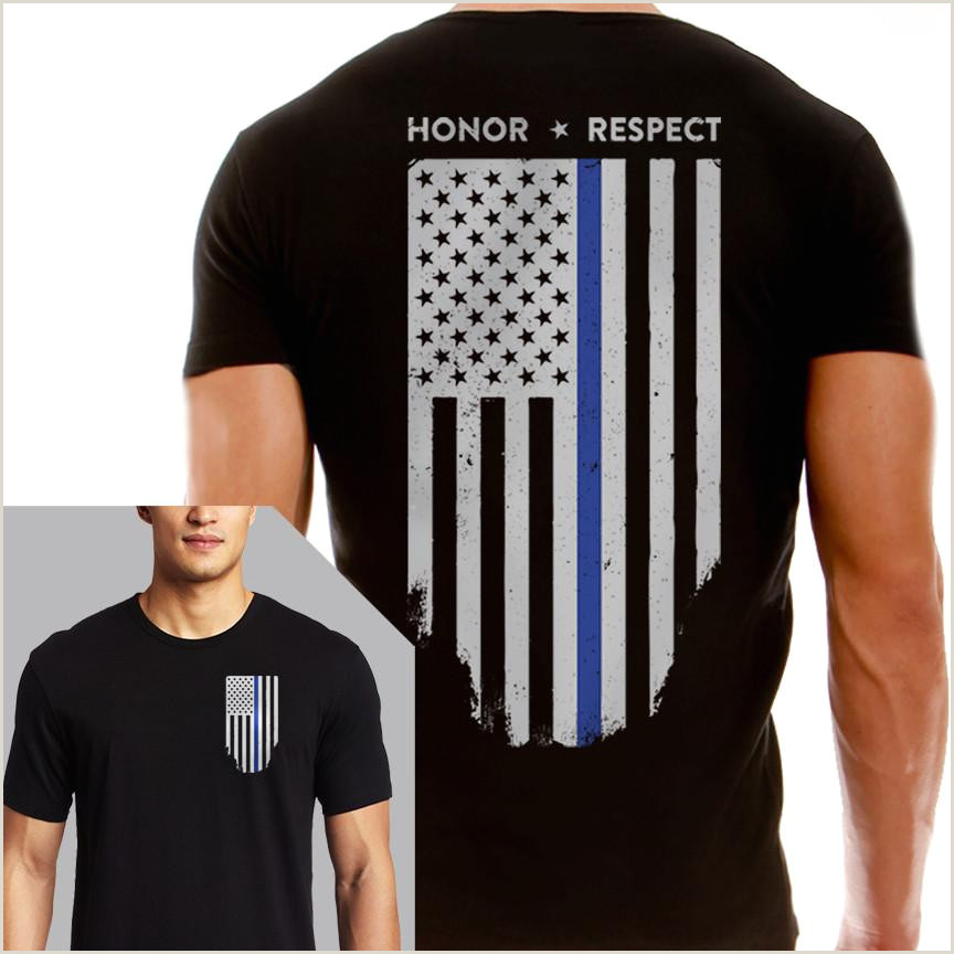 Tee Shirt Out Line Thin Blue Line Usa Ficial Site Shop Gifts Flags