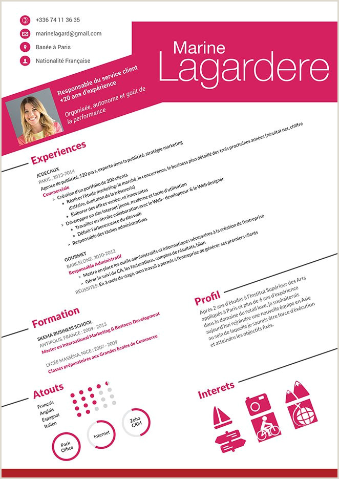 Telecharger Exemple De Cv Pdf Gratuit Cv En Francais Cv En Téléchargement Gratuit · Mycvfactory
