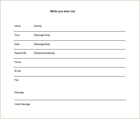 Telephone Message Pad Template Word Free Telephone Message Pad Template 14