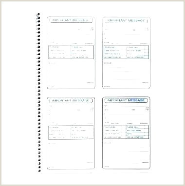 Voicemail Log Template Word Message Book Telephone