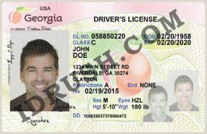 Texas Driver License Template Texas Driver License Psd Template