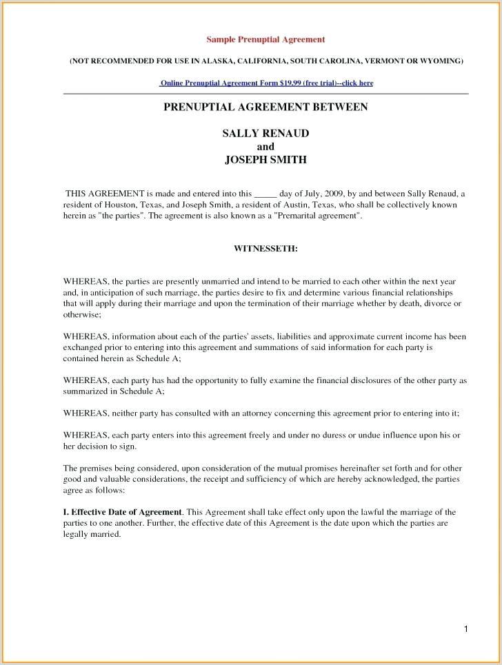 prenuptial agreement template – bigdatahero