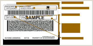 Texas Temp Id Template Uniformed Services Id Card