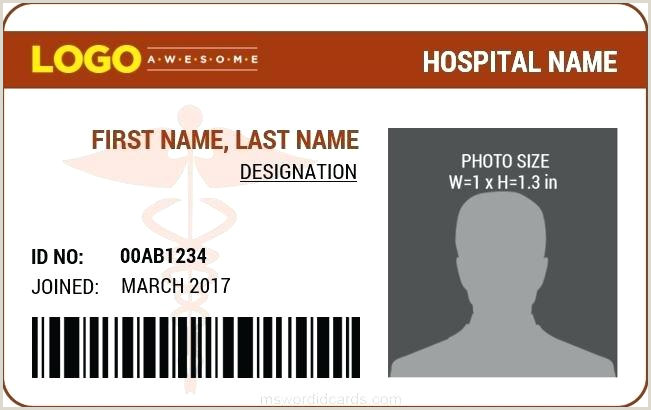 Printable Id Cards Identity Card Psd Template Download Free