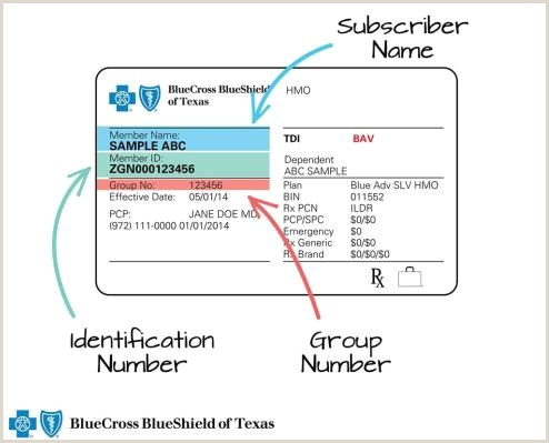 Texas Temporary Id Template What S My Member Id Number ask Bcbstx ask Bcbstx Blue