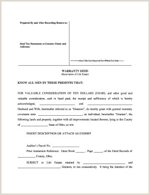 ohio limited warranty deed covenants Fill Out line Forms