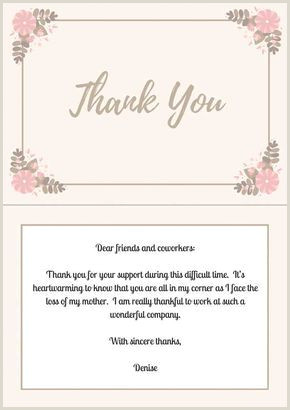 33 Best Funeral Thank You Cards Angel