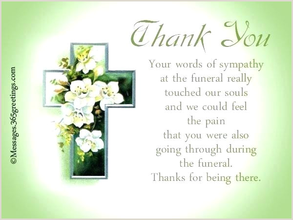 Funeral Thank You Card Ideas Note Cards Template Fresh Best