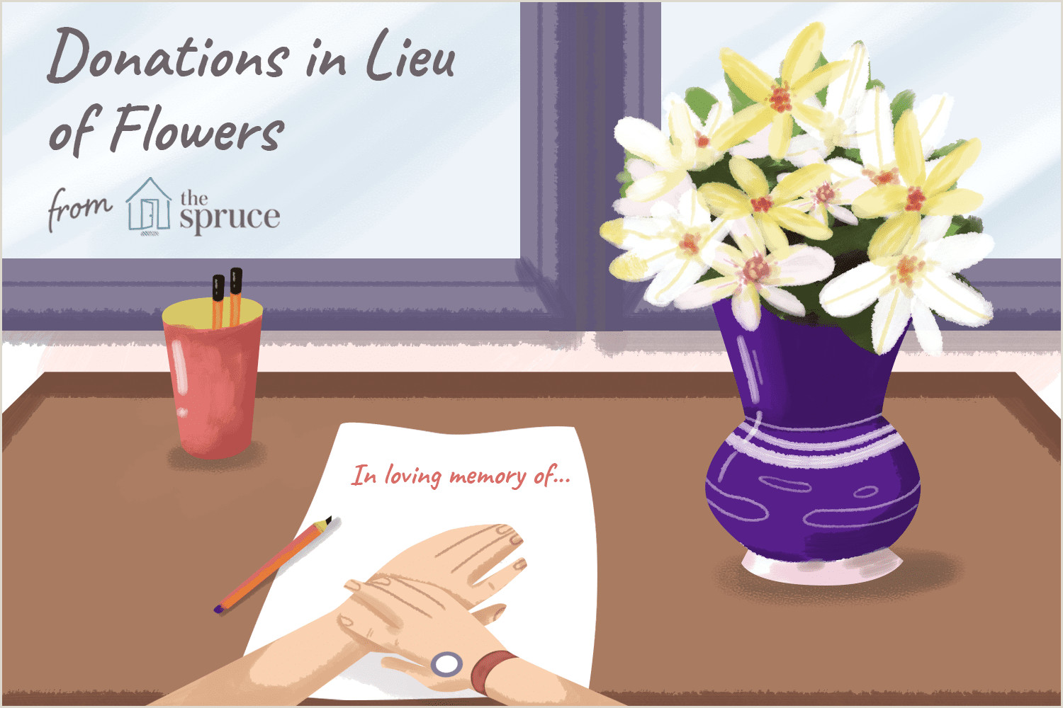 Thank You after Funeral Wording Proper Way to Donate In Memory Of the Deceased