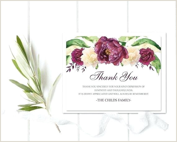 Thank You Announcement After Funeral Sample Wording For A
