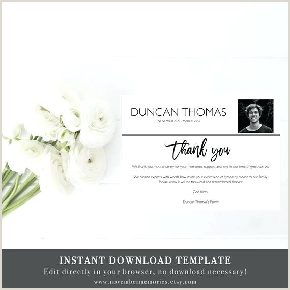 Thank You after Funeral Wording Thank You Announcement after Funeral Sample Wording for A