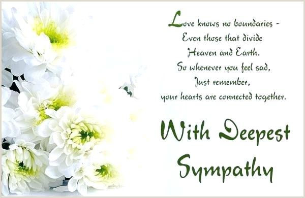 Floral Dreams Funeral Sympathy Card Sample For Coworker