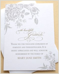 16 Best Funeral thank you card images