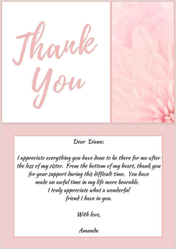 Thank You Note for Newspaper after Funeral 33 Best Funeral Thank You Cards Thank You