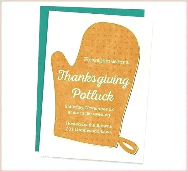 Thanksgiving Potluck Invitation Wording Thanksgiving Email Template Amazing Potluck Invitation to
