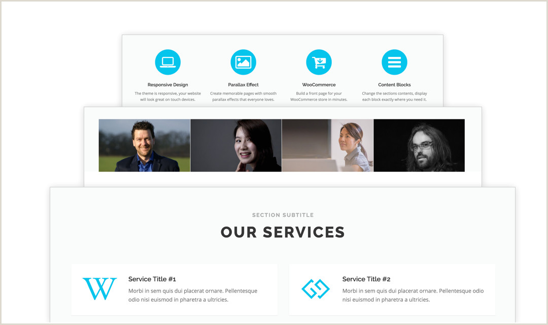 Free e Page WordPress Theme 2019 ePress