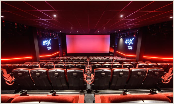 Shaking seats water sprays scented air is 4DX the future