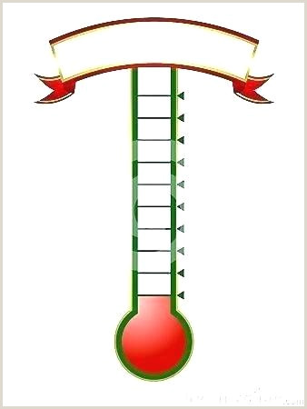 Thermometer Goal Tracker Template Savings thermometer Definition Word Goal Tracker