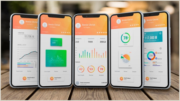 Mobile Ui Vectors s and PSD files