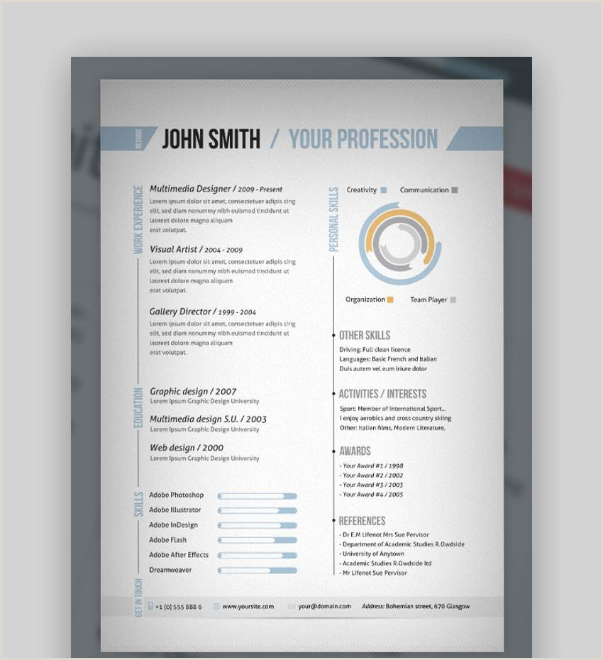 Tradesman Resume Template 25 top E Page Resume Templates Simple to Use format
