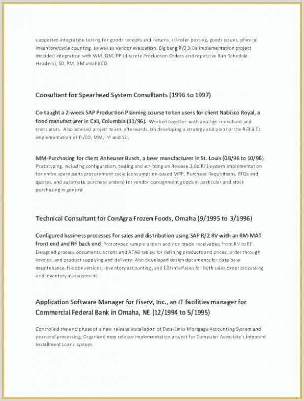 Tradesman Resume Template Effective Cv Template Most Professional Layout