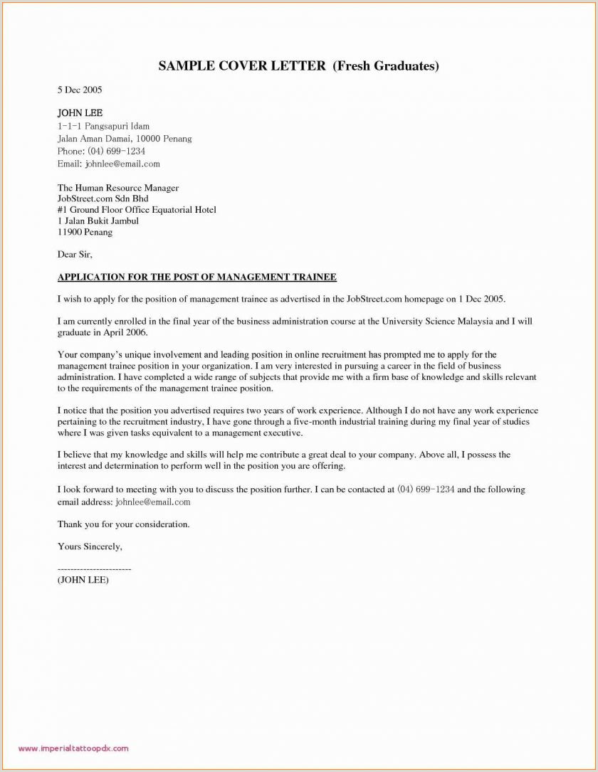 New Grad Nurse Cover Letter Example Functional Style Format