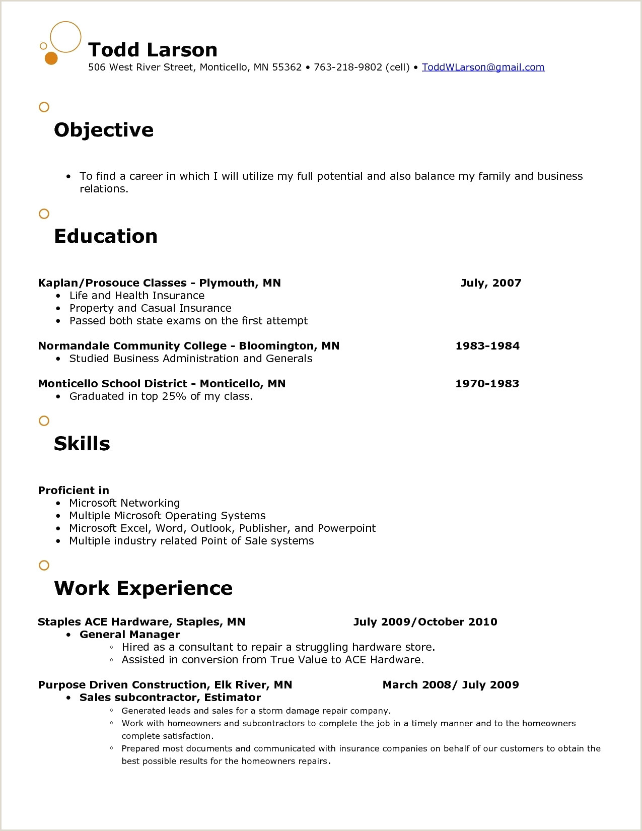 Resume top Model Unique Additional Skills A Resume Best Cna